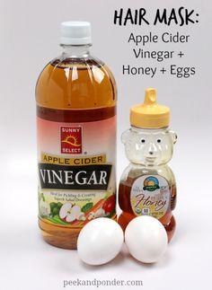 Apple Cider Vinegar, Honey and Eggs