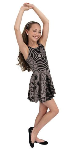 """Maddie Ziegler designed and modeled her """"Maddie & Mackenzie Collection Holiday Edition"""" [2014]"""