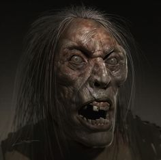 July, Head Study: Female Zombie - The Gnomon Workshop Forums Character Concept, Character Design, Frankenstein's Monster, Post Apocalyptic, Sculpting, Scary, Creatures, 3d, Female
