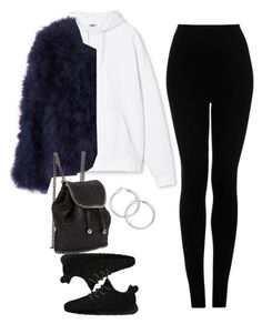 """""""#Style"""" by rosana-storyofmylife ❤ liked on Polyvore featuring adidas Originals, Topshop and STELLA McCARTNEY"""