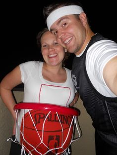 If you've got a baby belly to work with...Basketball couple via @DatingDivas contest