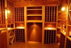 Light Play Wine Cellar Ideas