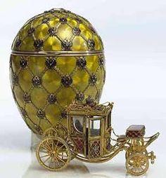 Antigua carroza que utilizaban los Zares el día de su coronación,