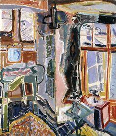 Bedroom, Mousehole | Hazlitt Holland-Hibbert | Dealers in twentieth century painting, drawing and sculpture