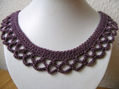 cochet necklace