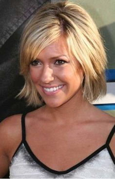 Cute Short Haircut for Fine Straight Hair