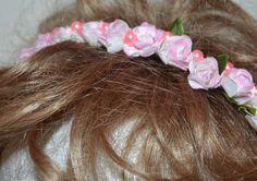 Girls pink headband pink headband childrens by creatingwithni
