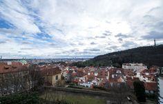 View of Prague from Prague Castle area. Prague Castle, Mountains, Nature, Travel, Naturaleza, Viajes, Destinations, Traveling, Trips
