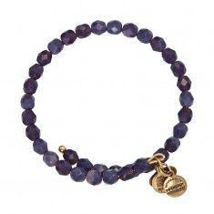 Grape Bohemian Jewel Wrap