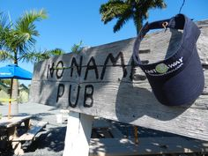 Castaway Visor at the No Name Pub in the Florida Keys.
