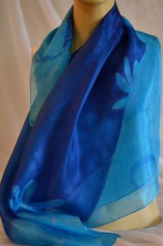 Hand-painted Square Silk Scarf, Blue Scarf, Light Blue Scarf, white Scarf, floral Scarf, drawing Scarf, OOAK, Elegant silk scarf, Woman Wrap colorful silk scarf By AyeletArts Measurements: 90 x 90 cm / 35.43 x 35.43 inch For yourself or someone dear to you! Gift idea for Grandmother Aunt Mother and Daughter gift Young girl Friends Family Workers Uniforms Special guests. Birthday Mother's Day Women's Day Valentine's Day. Boho scarf| Shoulder scarf| Generous silk scarf |Made in galilee…
