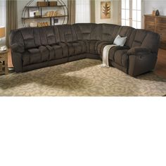 The Dump Furniture Sectional with 4 Reclining Seats living room