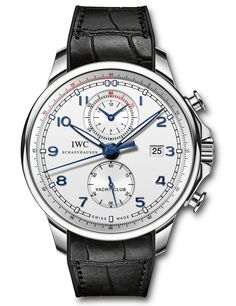 "IWC Portuguese Yacht Club Chronograph ""Ocean Racer"" - by David Bredan - see and learn more on aBlogtoWatch.com ""Boat races and watches – a weird and yet seemingly ever-green combination. A few years ago, IWC joined the craze and has chosen to sponsor the Volvo Ocean Race, a remarkably challenging, round-the-world race that starts this October in Alicante, Spain, and terminates in Gothenburg, Sweden, in June 2015..."""