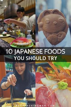 Food in Japan is delicious. Here's 10 of the best Japanese foods that you should try.