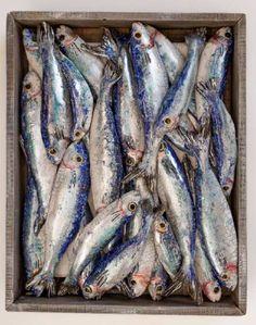 Home - Diana Tonnison Ceramics & Paintings Small Fish, Ceramic Fish, Pottery Designs, Fish Art, Ceramic Painting, Food Print, Artsy, Clay, Wood