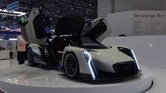 Al Salone dell'Auto di Ginevra Vanda Electrics Vanda Electrics ha presentato Dendrobium, prototipo elettrico di lusso che arriva da Singapore con clamore