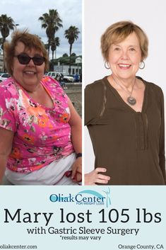 Gastric sleeve surgery is an effective weight loss surgery procedure for both men and women. If you are in the orange county, California area, the oliak center can get you the…More Lose 10 Pounds In A Week, Lose Weight In A Week, How To Lose Weight Fast, Weight Loss For Women, Weight Loss Goals, Best Weight Loss, Before After Weight Loss, Gastric Sleeve Surgery, Weight Loss Results