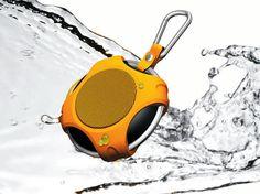 Splash-proof TurtleBack Portable Bluetooth Speaker by RDCC Enterprises. Turtle, Bluetooth, Turtles, Tortoise