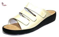 Ganter selina 37 284 32 chaussures mules à talons pour femme blanc taille 44/uK 9,5 f - Chaussures ganter (*Partner-Link)