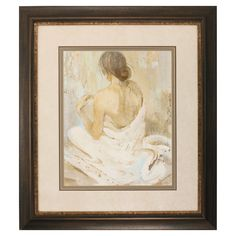 Abstract Figure Study II Framed Painting Print