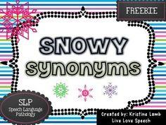 Snowy Synonyms {FREE