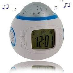 Le réveil original étoiles est sans doute l'un des réveils les plus fun du moment. Ainsi, vous pourrez paramétrer heure, sonnerie, couleur d'affichage... Et lorsque celui-ci vous réveille, un ciel étoilé s'affiche sur votre plafond avec un bruit de fond de vagues... Zen attitude ! Pour découvrir les meilleurs produits du moment : http://www.pinklemon.fr ! Pinklemon, le zeste de gadget original.