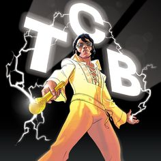 """TCB Elvis for the art book """"Graphic Elvis"""".    And, no, it's not an Elvis porn book ;-)    http://content.usatoday.com/communities/popcandy/post/2012/05/graphic-elvis-brings-the-king-to-cartoons/1"""