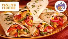 FAJITAS.  Un piatto per chi non sa scegliere tra Messico e Stati Uniti.  Combinate spezie piccantissime, carne tagliata a listarelle e delle tortillas. Fate pure una siesta ogni 5 minuti, non c'è fretta.  Dopo un solo morso non riuscirete più a smettere di ballare la cucaracha.
