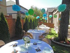 Backyard Baby Shower Ideas garden baby shower ideas home outdoor decoration Frog Snails And Puppy Dog Tails Backyard Baby Shower