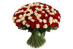 удивительный Букет 201 роза микс  #Букеты #Оригинальныебукеты,Букет201розамикс