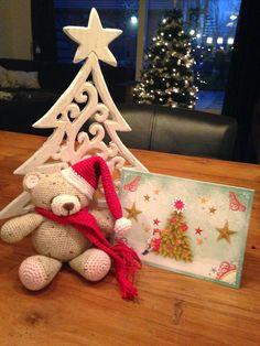 kerstbeertje ontvangen via de kerstfreubel