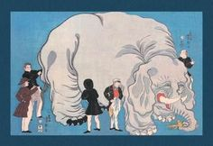 The Magnificent Exotic Beast 28x42 Giclee on Canvas