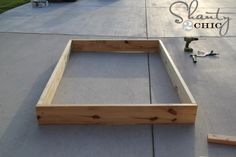 Easy DIY Platform Bed Easy DIY Platform Bed - Shanty 2 Chic<br> This Easy DIY Platform Bed is the perfect build for beginners! Get the free plans and how-to tutorial now! Diy Platform Bed Plans, Floating Platform Bed, Floating Bed Frame, Queen Platform Bed Frame, Wooden Platform Bed, Queen Size Platform Bed, Full Platform Bed, Platform Bed With Storage, Bed Frame With Storage