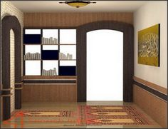 Desain Musholla dalam Rumah Minimalis sebagai rumah ibadah | Gambar dan Foto Rumah Minimalis