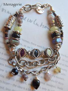 ON SALE bracelet muscovite bracelet green fluorite by soulfuledges