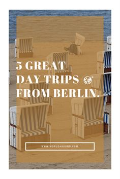 Explore beyond Berlin during your trip to Germany. Here are 5 great day trips from Berlin.