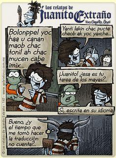 Los relatos de Juanito Extraño · La tarea escolar...