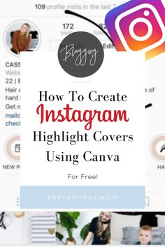 instagram stories cover