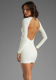 BEC&BRIDGE Estella Long Sleeve Backless Dress on shopstyle.com