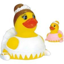 The Ballerina rubber duck can be custom imprinted at http://www.acenovelty.com/donace/DUCKS.HTM