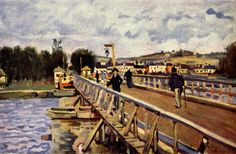 Langland Bay, Oil On Canvas by Alfred Sisley (1839-1899, France)