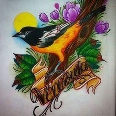 #Venezuela #tattoo #tachira  #sancristobal #sketch #bosquejos  #dibujos #turpial #recuperandolonuestro by: @maracucho_tattooink