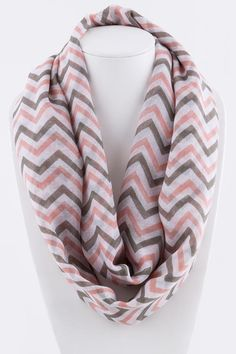 Shop Women's Pink size OS Accessories at a discounted price at Poshmark. Size approx x Sold by katjo. Passion For Fashion, Love Fashion, Closet Colors, Chevron Infinity Scarves, Everything Pink, My Boutique, Classy And Fabulous, Pink Ladies, Fashion Accessories