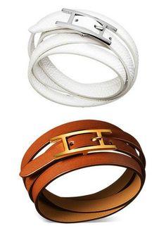 Wrap bracelets.