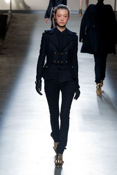 Prabal Gurung Wants You! The Designer Takes on Military for Fall 2013