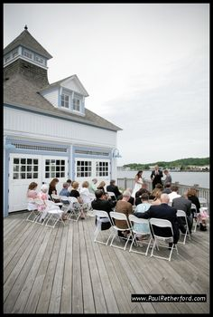 Elberta Historic Life Saving Station Wedding
