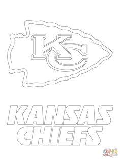 Kansas City Chiefs Logo | Super Coloring