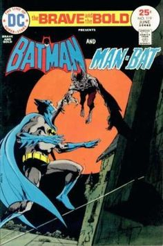 The Line Of Super-stars - Approved By The Comics Code - Presents - Batman - Man-bat - Jim Aparo