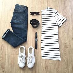WEBSTA @ votrends - Stripes were the go to look this summer ☀️Follow for more…