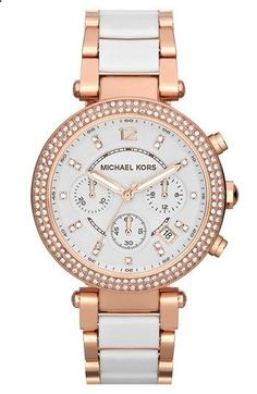 Michael Kors Parker Chronograph Watch, 39mm | Nordstrom and Im lucky enough to own it.